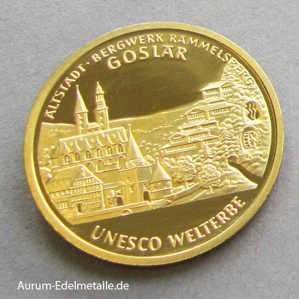 100 Euro Gold UNESCO 2008 Goslar