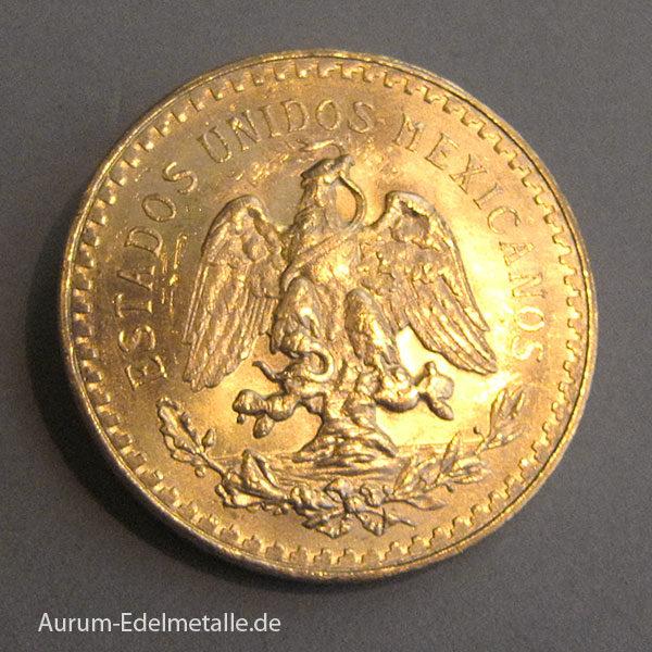 50 Mexikanische 50 Pesos Centenario 1821 - 1947