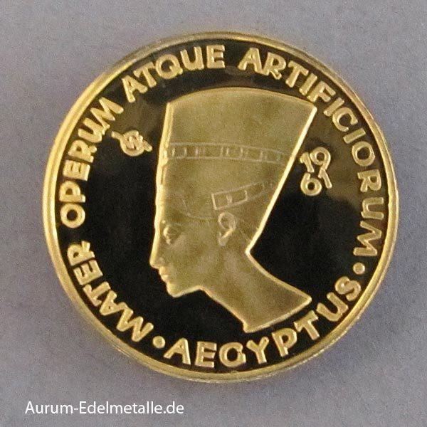 Aureus Magnus 1 Dukat Ägypten 1961