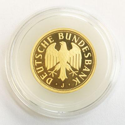 Deutschland 1 DM Goldmünze