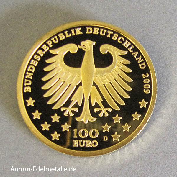 Deutschland 100 Euro Gold Weltkulturerbe Trier 2009