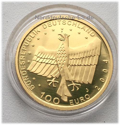 Deutschland-Bamberg-100-Euro-Goldmuenze
