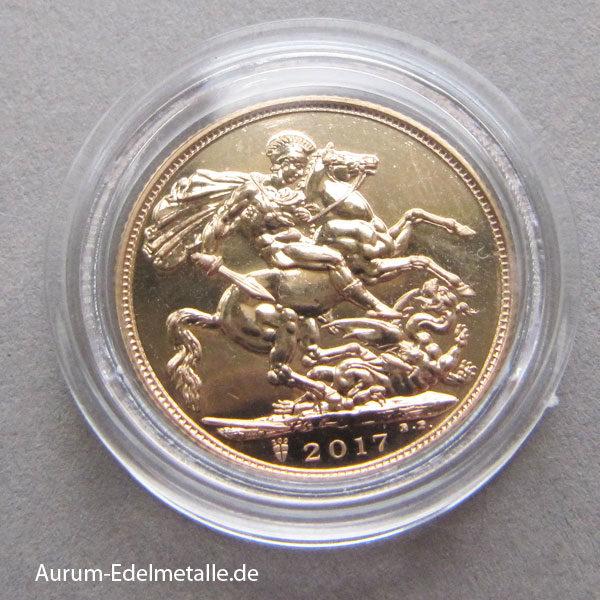 England One Pound Sovereign