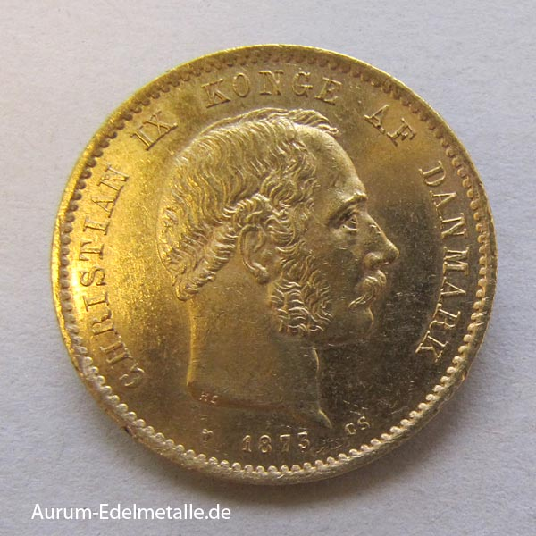 20 Kronen Goldmünze Christian IX