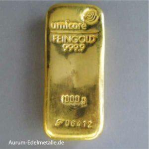 Goldbarren 1 Kg Goldbarren 1000g