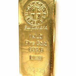 Goldbarren 1Kg 1000g Feingold 999.9