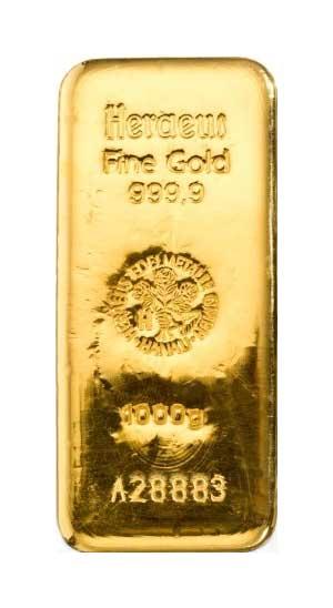 Goldbarren1000-Gramm