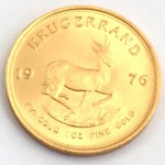 Südafrika Krügerrand Springbok 1-oz