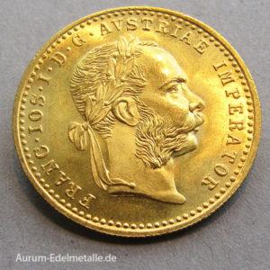 Österreich 1 Dukat Gold 1915