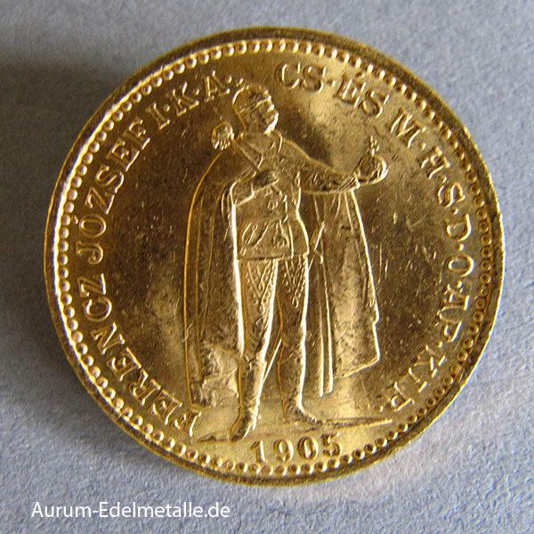 Österreich Ungarn 20 Kronen Franz Joseph I Gold 1892-1915
