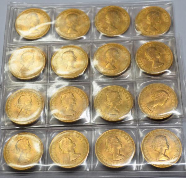 One-Pound-Sovereign-Queen-Elisabeth