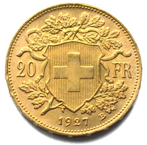 Schweiz-20Franken-Vreneli-1927