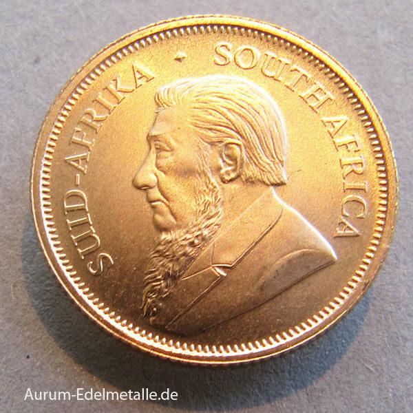 Süd Afrika Krugerrand 1_10oz Goldmünze