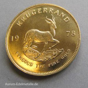 1 Unze (31,1g) Gold