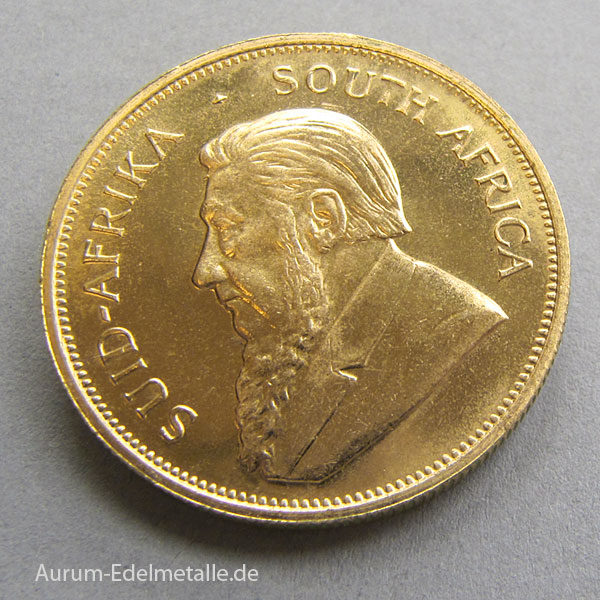 Südafrika Krügerrand 1 oz Goldmünze