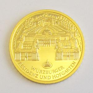 Deutschland 100 Euro 1_2oz Gold Würzburger Residenz
