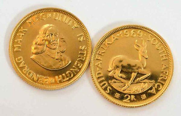 Sued Afrika 2 Rand Goldmuenze