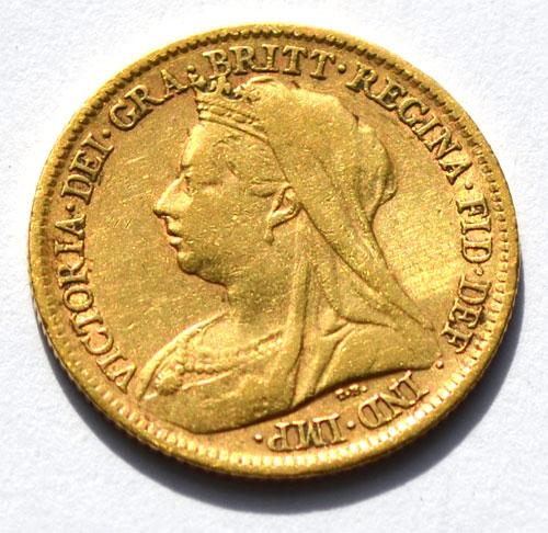 England One Pound Sovereign Queen Victoria 1898