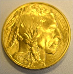 USA 50 $ Dollars Buffalo Indian Head Goldmuenze