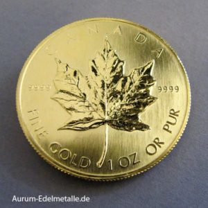 Kanada Maple Leaf 1 Oz