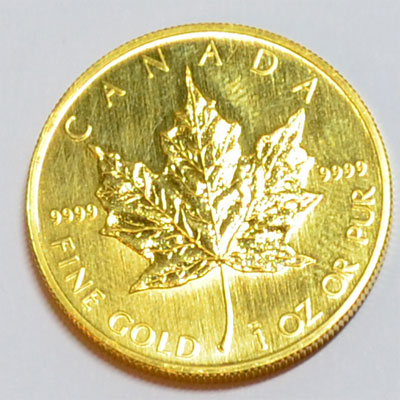 Kanada Maple Leaf 1 oz Feingold 9999 Goldmünze 50 Dollars