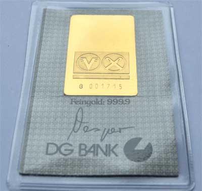Goldbarren-1-Unze-31,1Gr