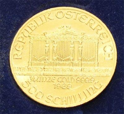 Oesterreich Wiener Philharmoniker 1_4 oz Feingold 9999 Goldmünze