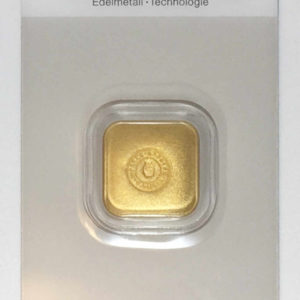 Goldbarren 50g Hafner Gussbarren