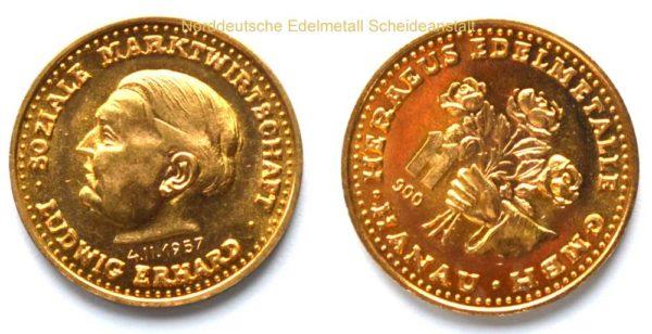 Der-goldene-Ludwig Gedenkmedaille