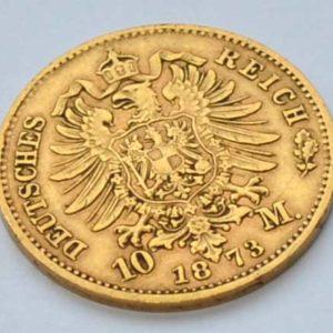Deutsches Reich 10 Mark Koenig Ludwig von Bayern