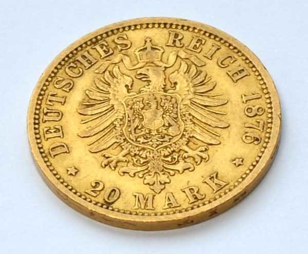 Deutsches-Reich-20-Mark-Hansestadt-Hamburg-1876