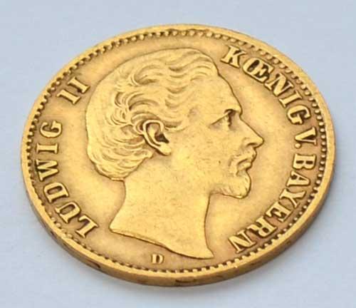Deutsches-Reich-Koenig-Ludwig-II-Bayern-1873