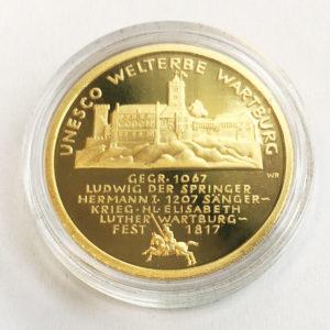 Deutschland 100 Euro 1_2 oz Feingold 9999 Wartburg