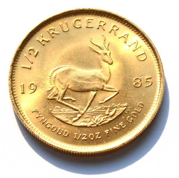 Sued Afrika Kruegerrand 1_2oz Feingold