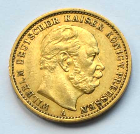Deutsches Reich 20 Reichsmark 1879