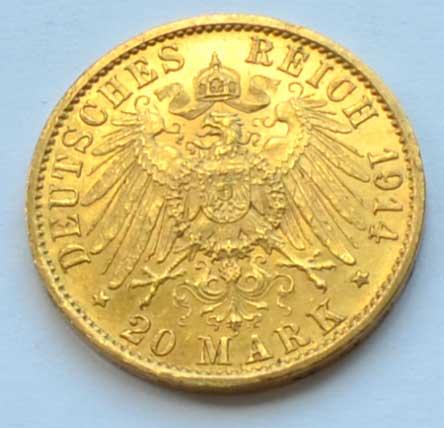 Kaiser Wilhelm II 1914-Avers