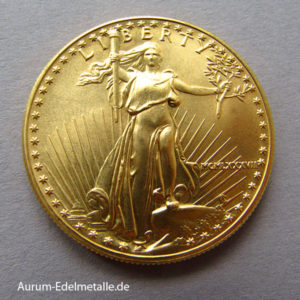 USA American Eagle 50 Dollars Goldmünze 1 OZ