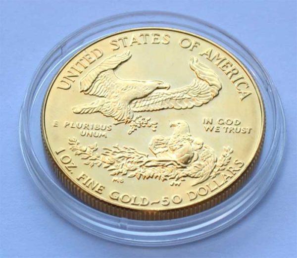 USA Eagle 50 Dollars 1 oz Feingold