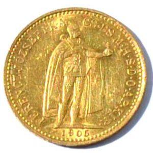 Ungarn 10 Korona FranzJosef Goldmuenze verschiedene Jahrgänge