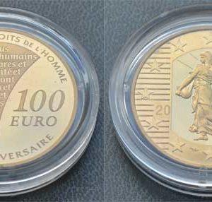 Frankreich 100 Euro Gold 2009