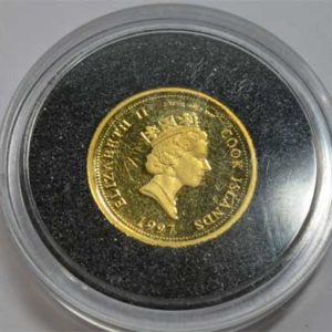 Cook Islands 5 Dollars 1_25oz Feingold 999 Diana Princess of Wales