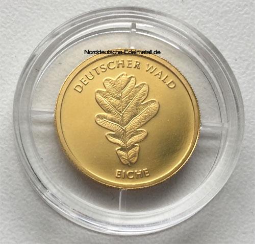 Deutschland 20 Euro Gold Eiche deutscher Wald