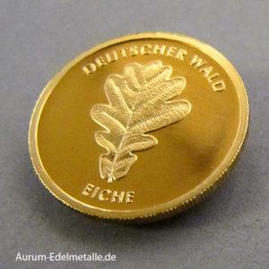 Deutschland 20 Euro Gold Eiche Deutscher Wald Feingold 9999