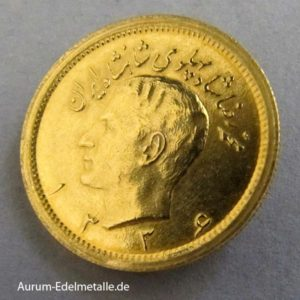 Persien 1 Pahlavi Gold