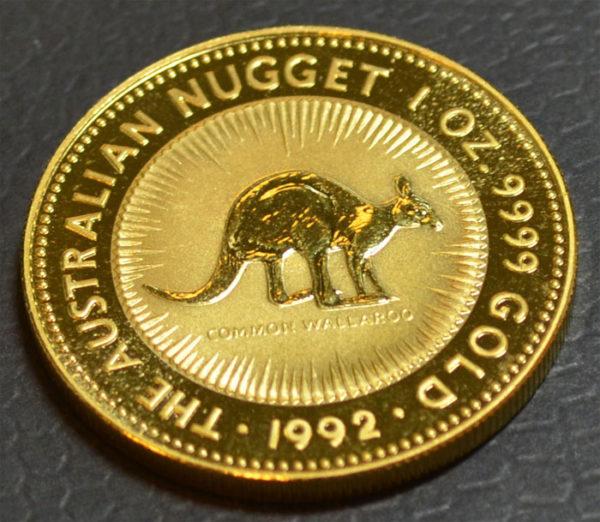 Australien Nugget Kangaroo 1 oz Feingold 9999 Bullion Anlagegold