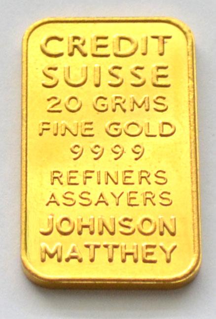 Goldbarren-20-Gramm-9999-Johnson Matthey
