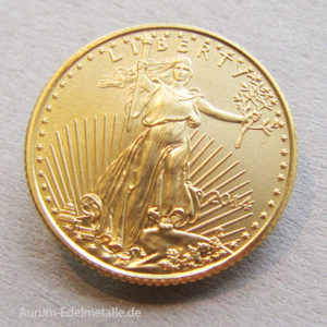 USA 5 Dollars American Eagle Gold 1_10oz