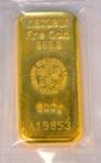 Goldbarren 500g Feingold 9999 Heraeus Hanau