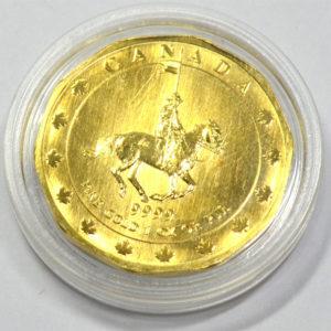 Kanada 50 Dollar 2000 Mounted Police 1-oz-Feingold-9999