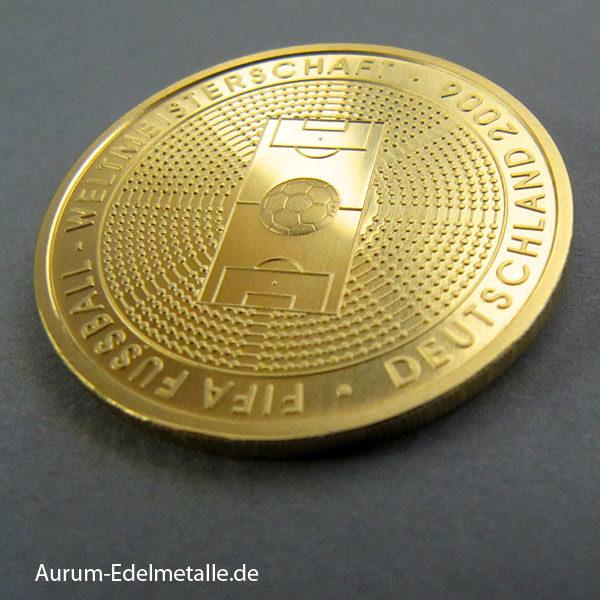 Deutschland 100 Euro Gold 2006 Fussball Weltmeisterschaft